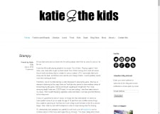 Katie and the kids