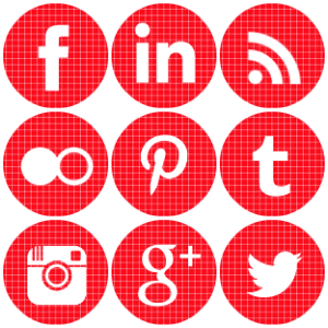 Free Round Red Check Gingham Instagram Icon Archives Geek Fairy