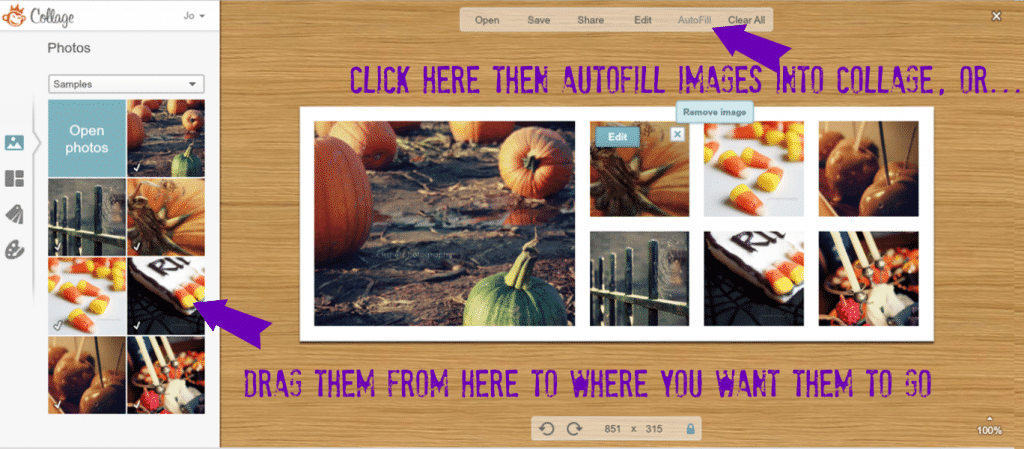 Facebook cover picmonkey tutorial3