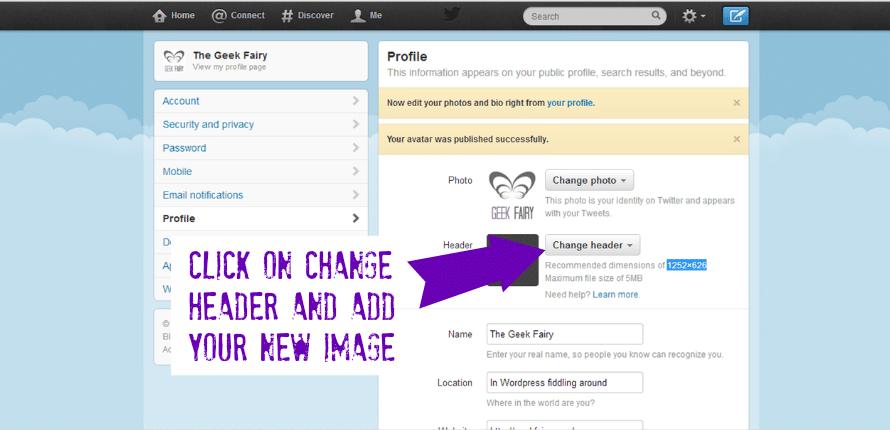 Twitter header collage tutorial