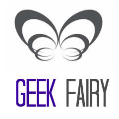 Geek Fairy Logo Square