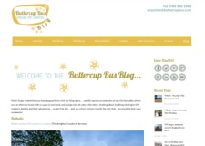 Buttercup Bus Blog