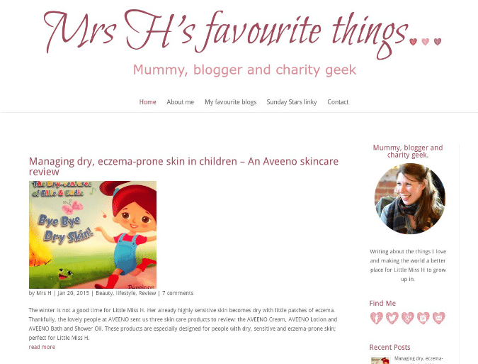 Mrs H's Favourite Things…