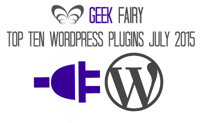 Top ten WordPress plugins July 2015