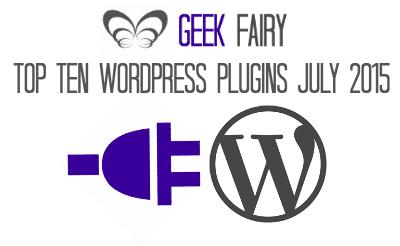Top ten WordPress plugins July 2015