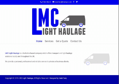 LMC Light Haulage