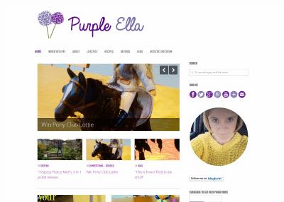 Purple Ella