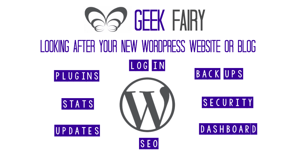 Looking after your new WordPress website or blog