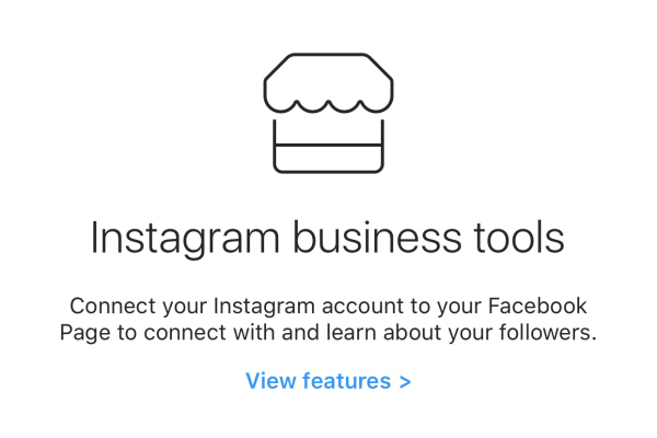 Changing your Instagram into a business accountA