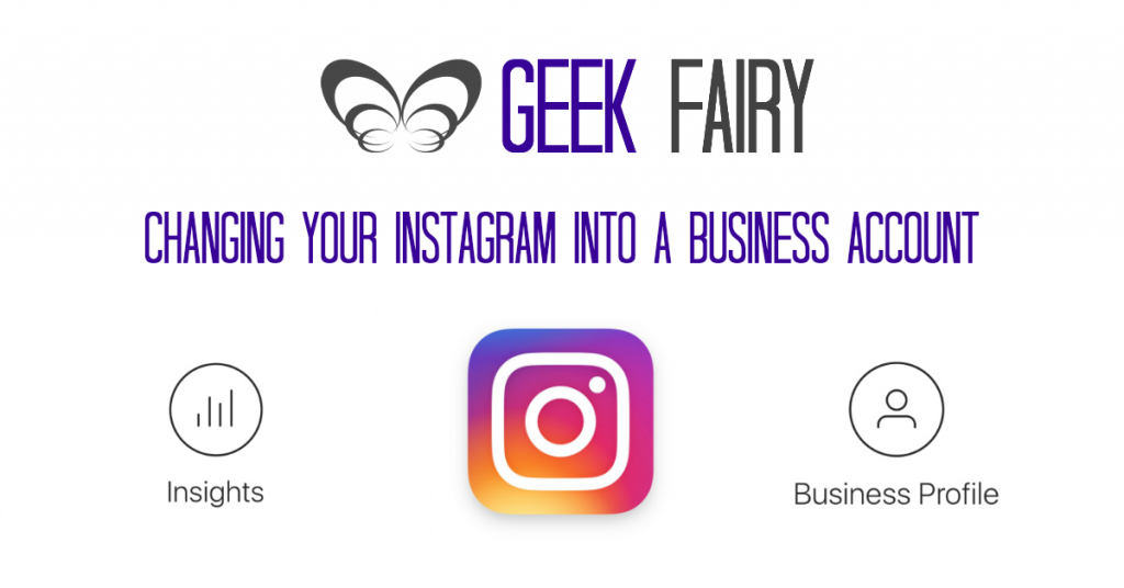Geek Fairy Featured Instagram Business account