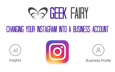 Changing your Instagram into a Business Account