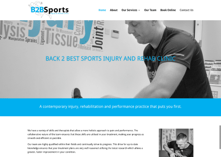 Back 2 Best Sports Injury and Rehab Clinic