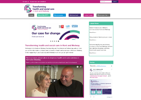 Transforming health and social care in Kent and Medway | NHS