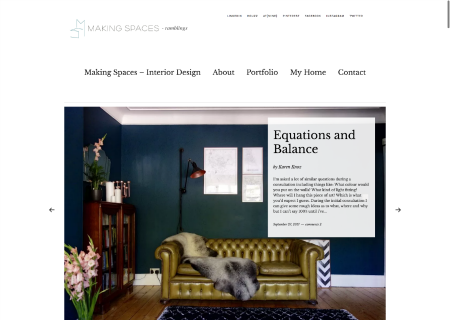 Making Spaces Blog