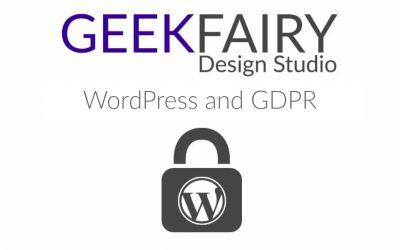 WordPress and GDPR Update April & May 2018