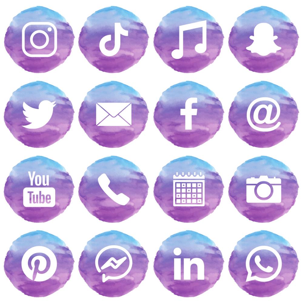 Free Social Media Icons Geek Fairy Design Studio